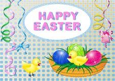 Pascua feliz Fotos de archivo libres de regalías