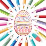 Pascua feliz Fotografía de archivo libre de regalías