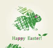 ¡Pascua feliz! Imagen de archivo