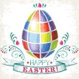 ¡Pascua feliz! Imagen de archivo libre de regalías