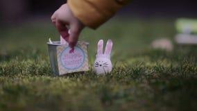 Pascua feliz almacen de metraje de vídeo