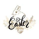 Pascua feliz/ejemplo dibujado mano - vector libre illustration