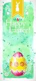 ¡Pascua feliz! (+EPS 10) Imagenes de archivo