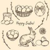 Pascua feliz fijó 1 libre illustration