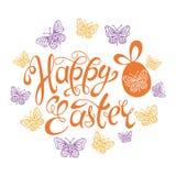Pascua feliz Fondo de la plantilla de la celebración del vector libre illustration