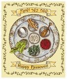Pascua judía feliz