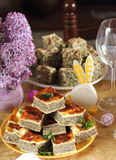 Pascua rumana tradicional Foto de archivo libre de regalías