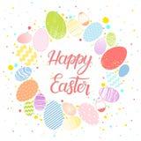 Pascua sazona la tarjeta de felicitaciones Imágenes de archivo libres de regalías