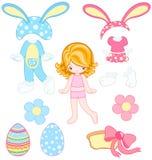 Pascua se viste para arriba stock de ilustración