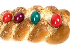 Pascua trenzó los pasteles daneses foto de archivo libre de regalías