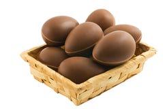 Pascua y chocolate Imágenes de archivo libres de regalías