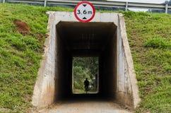 Pase debajo de la carretera Imagen de archivo libre de regalías