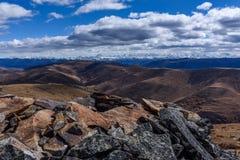Pase por alto el snowberg de Gongga Fotografía de archivo