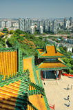 Pase por alto Nanjing Lion Mountain Scenic Area Imagenes de archivo