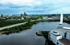 Pase por alto Ottawa céntrica Fotografía de archivo libre de regalías