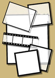 pasek diapozytywów filmowych Obraz Stock