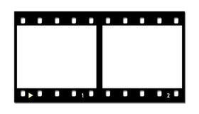pasek filmowego Fotografia Stock