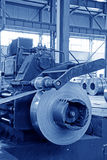 Pasek i machinalny wyposażenie w fabryce Obrazy Royalty Free
