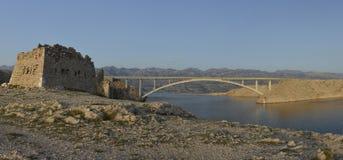 Pasek most (Pag most) Obraz Stock