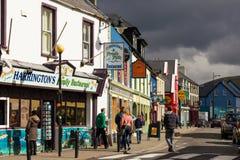Pasemko ulica dingo Irlandia zdjęcia royalty free