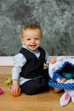 Pasen-baby royalty-vrije stock foto's