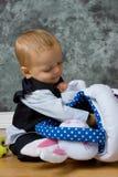 Pasen-baby royalty-vrije stock afbeeldingen