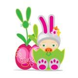 Pasen-Baby Stock Afbeeldingen