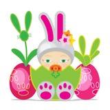Pasen-Baby Royalty-vrije Stock Fotografie