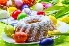 Pasen-cake Royalty-vrije Stock Foto's