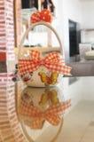 Pasen-container voor eieren royalty-vrije stock foto