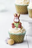 Pasen cupcake Royalty-vrije Stock Foto