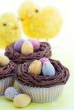 Pasen cupcakes Royalty-vrije Stock Afbeelding