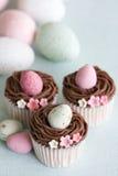 Pasen cupcakes Stock Fotografie