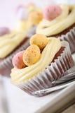 Pasen cupcakes Royalty-vrije Stock Afbeeldingen