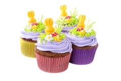 Pasen cupcakes Royalty-vrije Stock Fotografie
