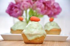 Pasen Cupcakes Royalty-vrije Stock Foto