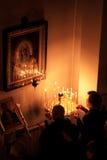 Pasen in de Orthodoxe Kerk Stock Foto