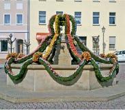 Pasen-decoratie in Duitsland Royalty-vrije Stock Afbeeldingen