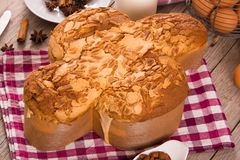 Pasen-Duifbrood Colomba Pasquale royalty-vrije stock foto's