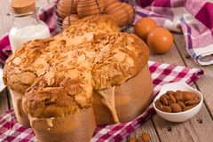 Pasen-Duifbrood Colomba Pasquale royalty-vrije stock foto