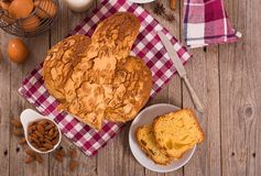 Pasen-Duifbrood Colomba Pasquale royalty-vrije stock fotografie