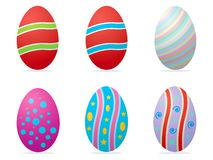 Pasen eggs2 Royalty-vrije Illustratie