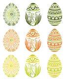 Pasen, eieren Stock Afbeeldingen