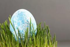 Pasen gekleurde eieren Royalty-vrije Stock Afbeeldingen