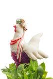 Pasen-het stuk speelgoed van de kippenstof Royalty-vrije Stock Afbeeldingen