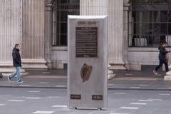 Pasen-het Toenemen Gedenkteken voor GPO, de Straat van O ` Connell, Dublin stock foto