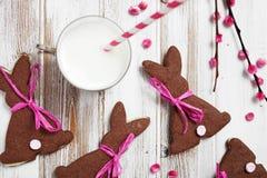 Pasen-koekjes Stock Afbeeldingen