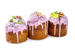Pasen koekt eigengemaakte gebakjes royalty-vrije stock afbeeldingen