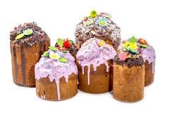 Pasen koekt eigengemaakte gebakjes royalty-vrije stock foto's