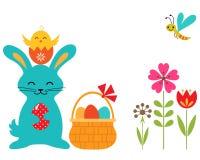 Pasen-konijn Stock Afbeeldingen